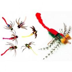 Purrs Dragonfly Refill - Anhänger für Katzenangel