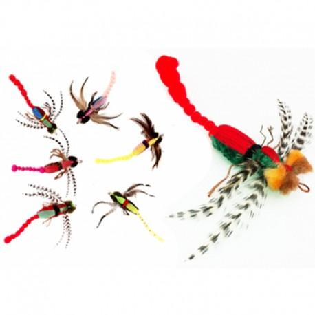 Purrs Dragonfly Refill - Anhänger für Katzenangel - Flying Frenzy