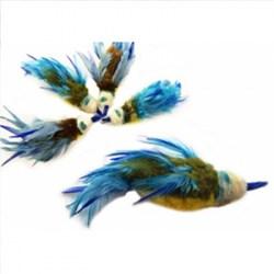 Purrs Bluetit Bird Refill - Blaumeise Katzenspielzeug (Anhänger)