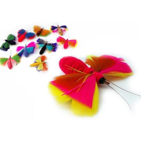 Purrs ButterMoth Refill - Bunter Wechselanhänger, Spielanhänger Schmetterling