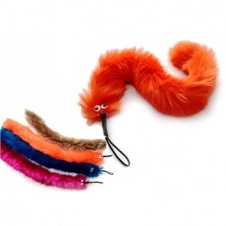 Purrs Slinky Squirm extra großer Wechselanhänger für Katzenspielangel aus Plüsch
