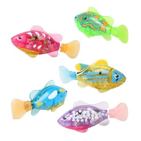 Fischis - schwimmende Roboterfische günstig als Katzenspielzeug