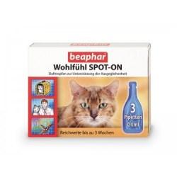 Wohlfühl SPOT-ON für Katzen von beaphar | Mittel gegen Angst u. Stress