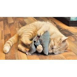 Kuschelkissen mit Silver Vine - Matatabi, für Katzen die Catnip lieben