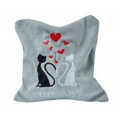 Katzenkissen mit Silver Vine - True Love Größe M