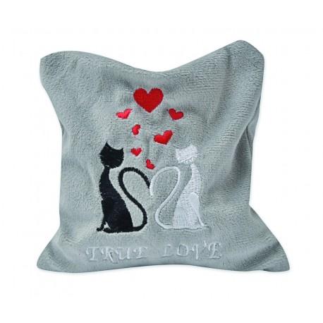 Katzenkissen mit Silver Vine - True Love Größe M. Kuschelkissen - Matatabi, für Katzen die Catnip lieben