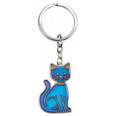 Stimmungsbarometer Schlüsselanhänger Katzenanhänger Geschenk Katzenfan