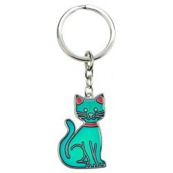 Stimmungsschlüsselanhänger Katze als süßes Geschenk für den Katzenfan