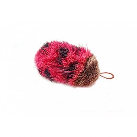 Katzenspielzeug von Purrs - Wechselanhänger Ladybird in Pink