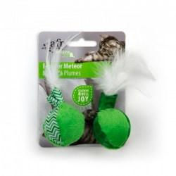 Modern Cat Feather Meteor Spielbälle mit Federn von All For Paws