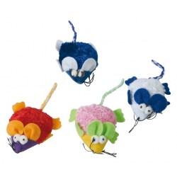 Lustige Spielmaus mit Glöckchen