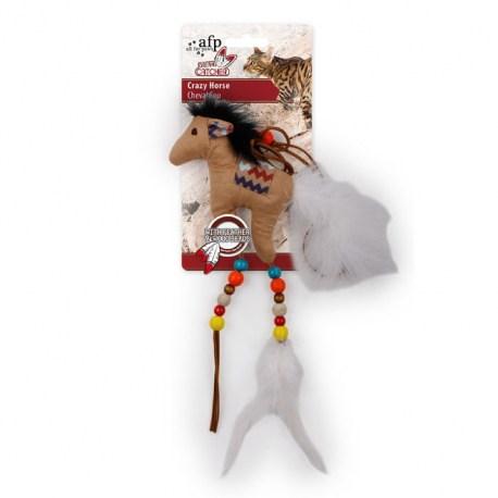 Dreams Catcher Crazy Horse von afp - Katzenspielzeug zum Aufhängen von All For Paws
