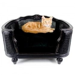 Katzensofa Arthur Black Velvet von Lord Lou | Design Katzenliege