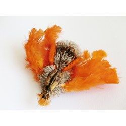 Purrs Wechselanhänger Spinne aus Hirsch-Haar - Katzenspielzeug aus Fell