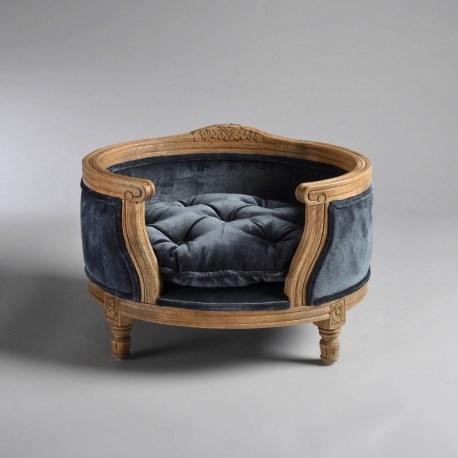 Katzenbett/Hundebett George Royal Blue Velvet