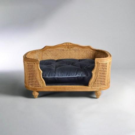 Katzensofa Arthur Royal Blue Velvet - Edles Design für Katzen und Hunde