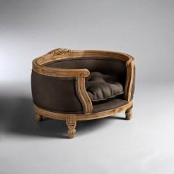 Katzensofa George in Braun - schlicht aber elegant und edel | Lord Lou