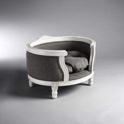 Katzenbett Georg in Stonewashed Grey von Lord Lou | Sofa für Katzen