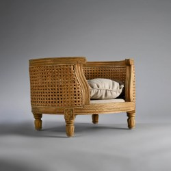Schönes Katzenbett George Oak von Lord Lou | Tierbett für Hund & Katze