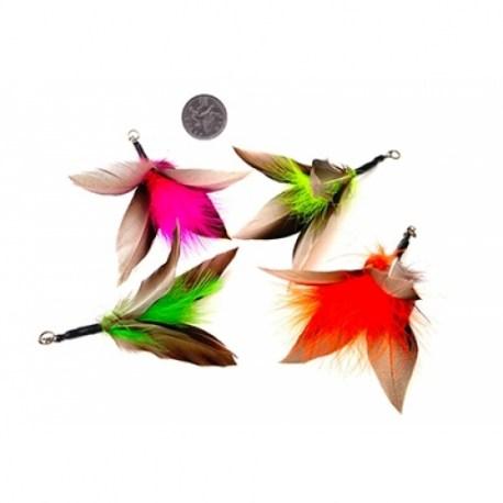 Purrs Mini Flutter Buds - Doppelpack kleine Federanhänger