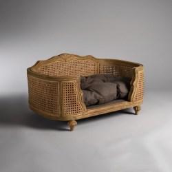 Katzensofa Arthur Charcoal Brown| Barockes Katzenbett von Lord Lou