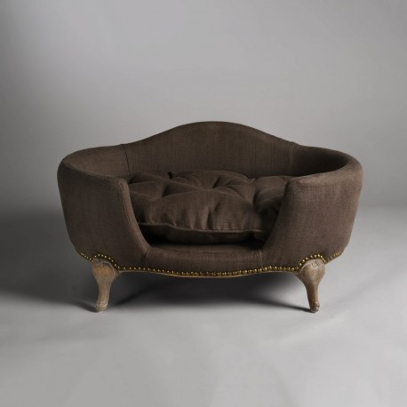 Katzensofa - Antoinette pet bed Charcoal Brown