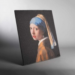 Copycat Art Scratcher - Girl with a pearl earring