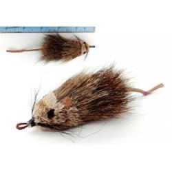 Echtfell Spielmäuse für Katzen von Purrs - Ratatouille Katzenspielmaus