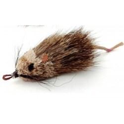 Echtfell Spielmaus für Katzen - Purrs Ratatouille