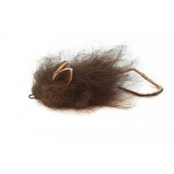 Echtfell Spielmaus für Katzen - Purrs Buffalo Mouse