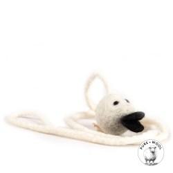 WoolenDucky von Profeline – gefilztes Spielzeug für Katzen