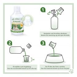 Nachtkerzenöl von AniForte als sinnvolle Nahrungsergänzung für Katzen