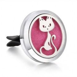Duftstecker für Auto – Motiv Katze