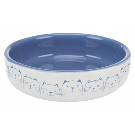Futternapf mit großen Durchmesser aus Keramik
