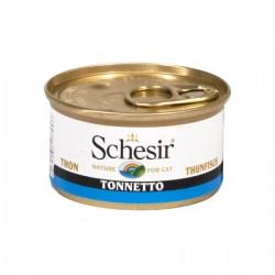 Schesir Thunfisch mit Wolfsbarfsch - Thunfisch ohne Reue für Katzen