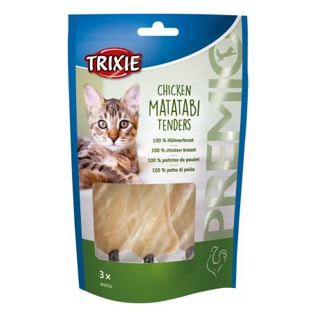 Chicken Matatabi Tenders von TRIXIE (3 Stück pro Packung)