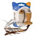 Cushy Fische mit Bändern und Katzenminze - 2 Stück