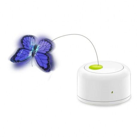 Motion Activated Butterfly - elektrisches Katzenspielzeug