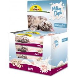 JR Farm Milky Bits Ente sind kleine Leckerchen aus Fleisch für Katzen