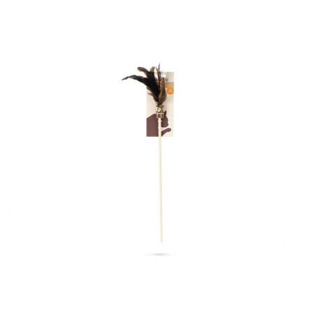 Matatabi Katzenwedel mit Federn und Glöckchen