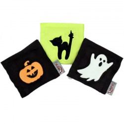 4cats Baldrian-Kissen mit Halloween Motiven