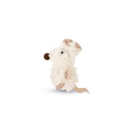 Maus Holly aus flauschen Polyester von Beeztees