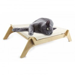 Cat Lounge | niedriege Katzenliege für Senioren