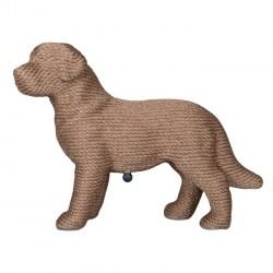 PUP Scratcher - kleines Kratzmöbel für Katzen in Hundewelpenform