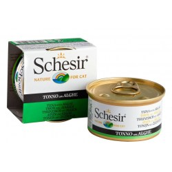 Schesir Cat - Jelly Thunfisch mit Algen 85g