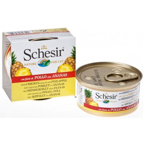 Schesir Cat -Fruit Hühnerfilet mit Ananas 75g