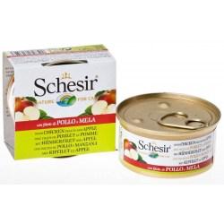 Schesir Cat - Fruit Hühnerfilet mit Apfel 75g