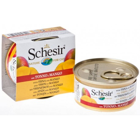 Schesir Cat - Fruit Thunfisch mit Mango 75g