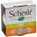 Schesir Cat - Brühe Thunfisch mit Karotte 70g