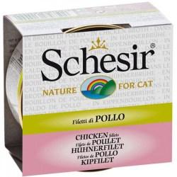 Schesir Cat - Brühe Hühnerfilet 70g